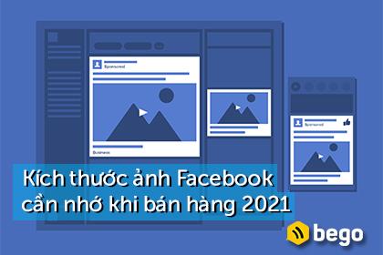 Các kích thước ảnh trên Facebook cần nhớ khi bán hàng