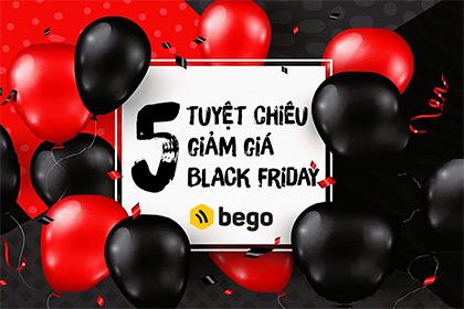 5 tuyệt chiêu giảm giá cực hút khách dịp Black Friday