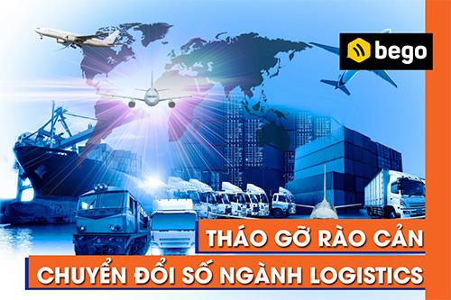 Tháo gỡ rào cản chuyển đổi số cho ngành Logistics