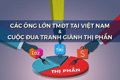 Các ông lớn TMĐT tại Việt Nam và cuộc đua giành thị phần