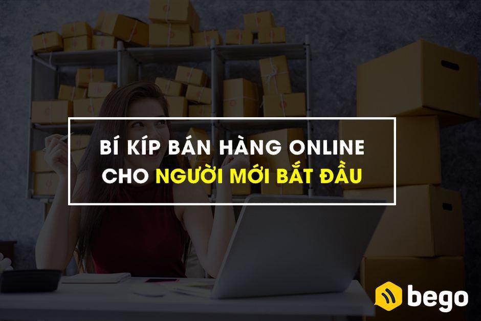 Bí kíp bán hàng online cho người mới bắt đầu