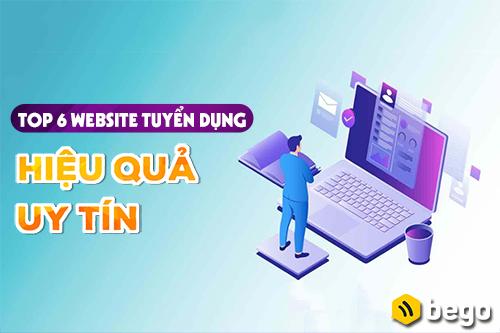 Top 6 website tuyển dụng hiệu quả, uy tín