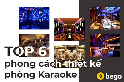 Top 6 phong cách thiết kế phòng karaoke hút khách nhất hiện nay