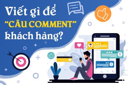 Bài post viết câu gì lấy comment của khách hàng?