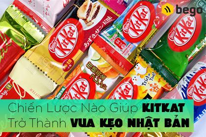 Chiến Lược Nào Giúp Kitkat Trở Thành Vua Kẹo Nhật Bản