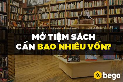 Mở Tiệm Sách Cần Bao Nhiêu Vốn?